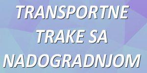 transportne trake sa nadogradnjom
